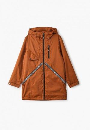 Куртка АксАрт. Цвет: коричневый