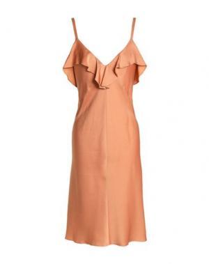 Короткое платье A.L.C.. Цвет: телесный