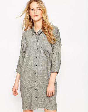 Свободное платье-рубашка Le Mont St Michel