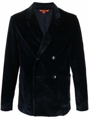 Двубортный пиджак Barena. Цвет: синий