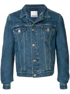 Джинсовая куртка с принтом Ground Zero