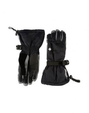 Перчатки COLUMBIA. Цвет: черный