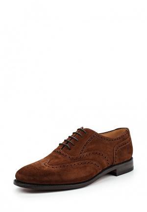 Туфли Loake LO026AMNSP27. Цвет: коричневый