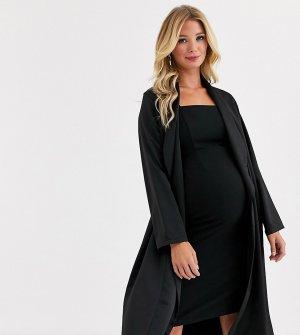 Черный пиджак от комлекта Maternity Queen Bee