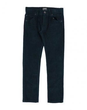 Повседневные брюки iDO by MINICONF. Цвет: цвет морской волны