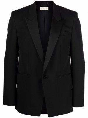 Вечерний пиджак Saint Laurent. Цвет: черный