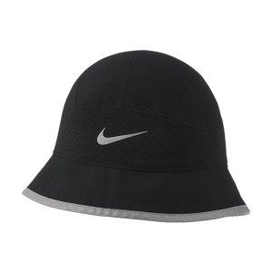 Перфорированная панама для бега Nike Dri-FIT - Черный