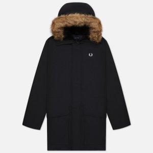 Мужская куртка парка Padded Fred Perry. Цвет: чёрный