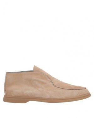 Полусапоги и высокие ботинки ALDO BRUÉ. Цвет: песочный