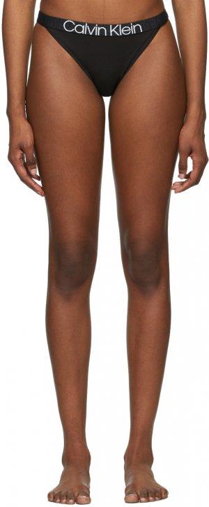 Black High Leg Reconsidered Comfort Briefs Calvin Klein Underwear. Цвет: 001 black