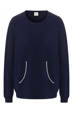 Пуловер FTC. Цвет: синий