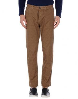 Повседневные брюки FRED MELLO. Цвет: коричневый