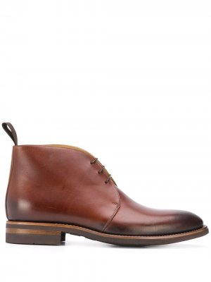 Ботинки дезерты Mauro Scarosso. Цвет: коричневый