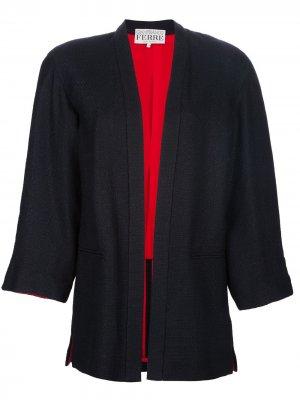 Пиджак с юбкой Gianfranco Ferré Pre-Owned. Цвет: синий