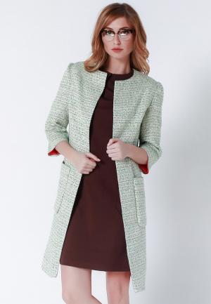 Пальто Olga Skazkina. Цвет: зеленый