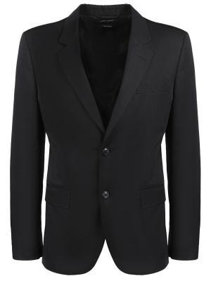 Пиджак хлопковый Marc Jacobs. Цвет: черный