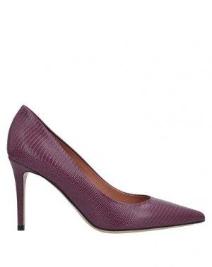 Туфли DEIMILLE. Цвет: баклажанный