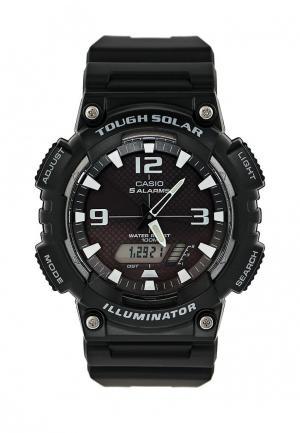 Часы Casio Collection AQ-S810W-1A. Цвет: черный