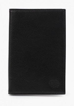 Обложка для паспорта Qoper. Цвет: черный
