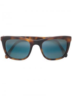 Солнцезащитные очки в квадратной оправе L.G.R. Цвет: коричневый