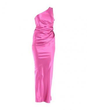Длинное платье LANVIN. Цвет: фиолетовый