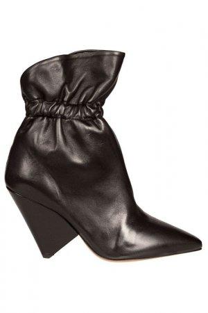 Ботинки ISABEL MARANT ETOILE. Цвет: черный
