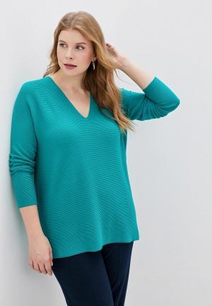 Пуловер Persona by Marina Rinaldi AGRESTE. Цвет: зеленый