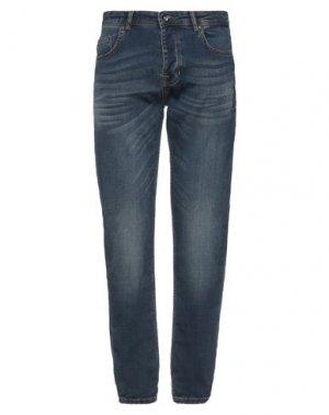 Джинсовые брюки FRED MELLO. Цвет: синий
