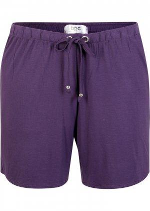 Пляжные шорты bonprix. Цвет: лиловый
