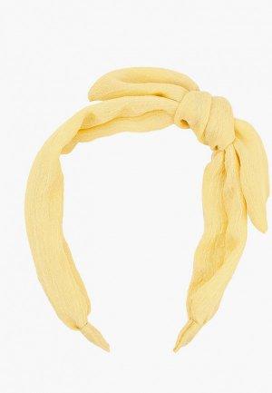 Ободок Mango Kids - LACE3. Цвет: желтый