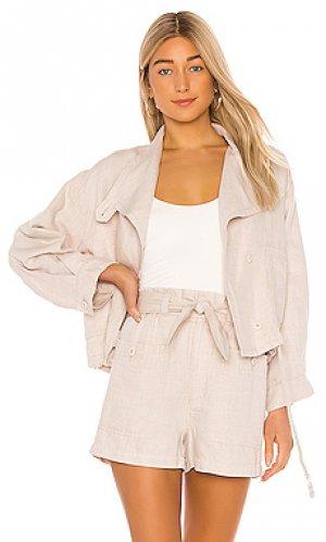 Куртка gally Joie. Цвет: беж