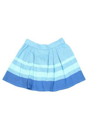 Юбка Gioia di Mamma. Цвет: голубой
