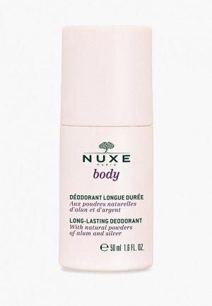 Дезодорант Nuxe Шариковый длительного действия BODY, 50 мл. Цвет: прозрачный