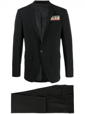 Костюм с декорированным карманом Dsquared2. Цвет: черный