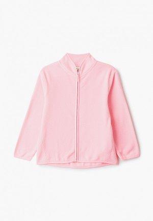 Олимпийка Sela. Цвет: розовый