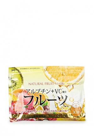 Набор масок для лица Japan Gals натуральных с фруктовыми экстрактами, 30 шт