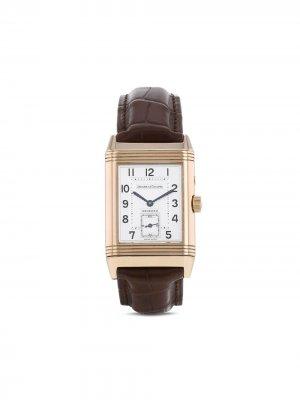 Наручные часы Reverso-Duoface pre-owned 26 мм 1990-х годов Jaeger-LeCoultre. Цвет: коричневый