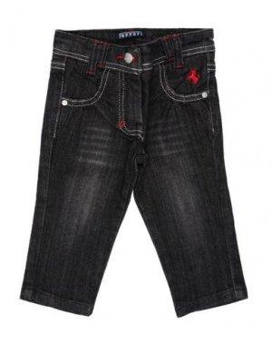 Джинсовые брюки FERRARI. Цвет: свинцово-серый