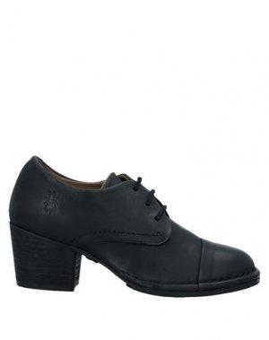 Обувь на шнурках FLY LONDON. Цвет: черный