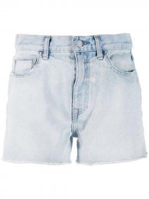 Джинсовые шорты John Elliott. Цвет: синий
