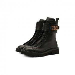 Кожаные ботинки Glaris Bally. Цвет: чёрный