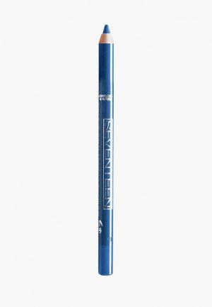 Карандаш для глаз Seventeen водостойкий т.39 с витамин.Е Super Smooth W/P&Longstay полночное синее небо. Цвет: синий