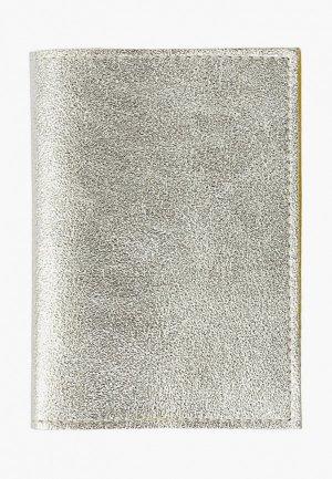 Обложка для паспорта Kokosina. Цвет: серебряный