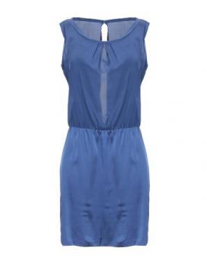 Короткое платье CYCLE. Цвет: темно-синий