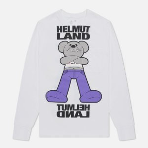 Мужской лонгслив Helmut Land Mascot Lang. Цвет: белый
