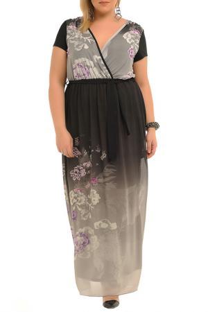 Платье Svesta. Цвет: серый