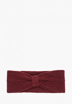 Повязка Vero Moda. Цвет: бордовый