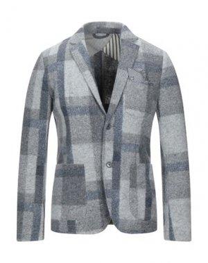Пиджак KOON. Цвет: светло-серый