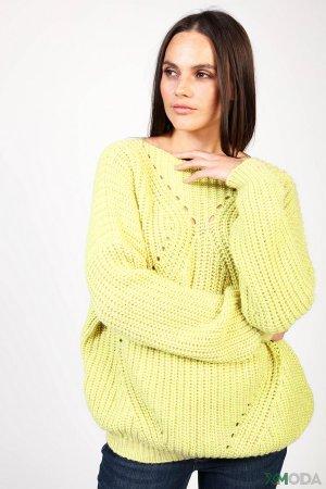 Пуловер Set. Цвет: зелёный