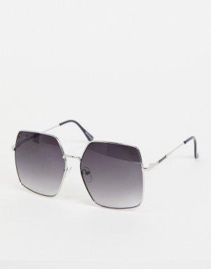 Мужские солнцезащитные очки в черной оправе -Черный Jeepers Peepers